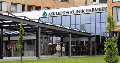 Clădirea clinicii Asklepios din Germania