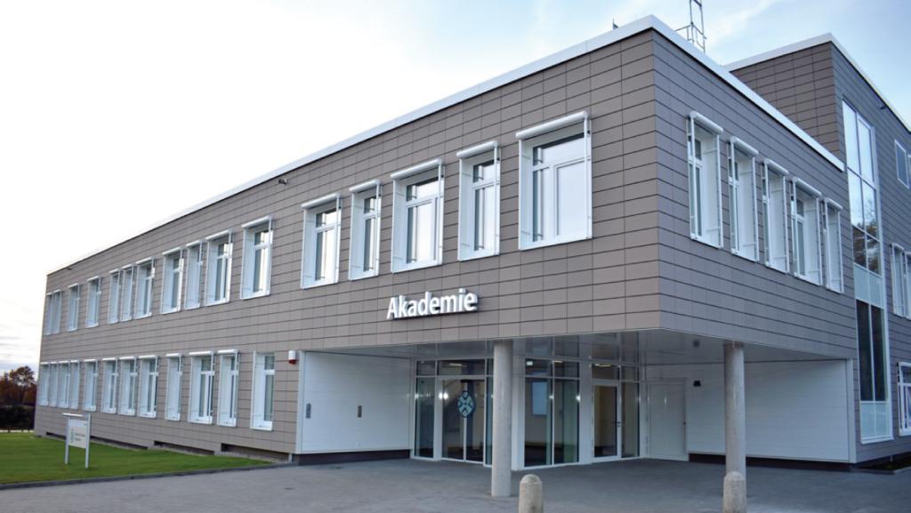 Clădirea reședinței pentru seniroi Itzehoe din Germania
