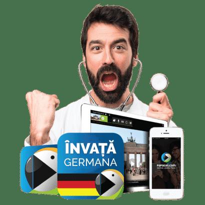 Cover curs de germană pentru asistent medical generalist
