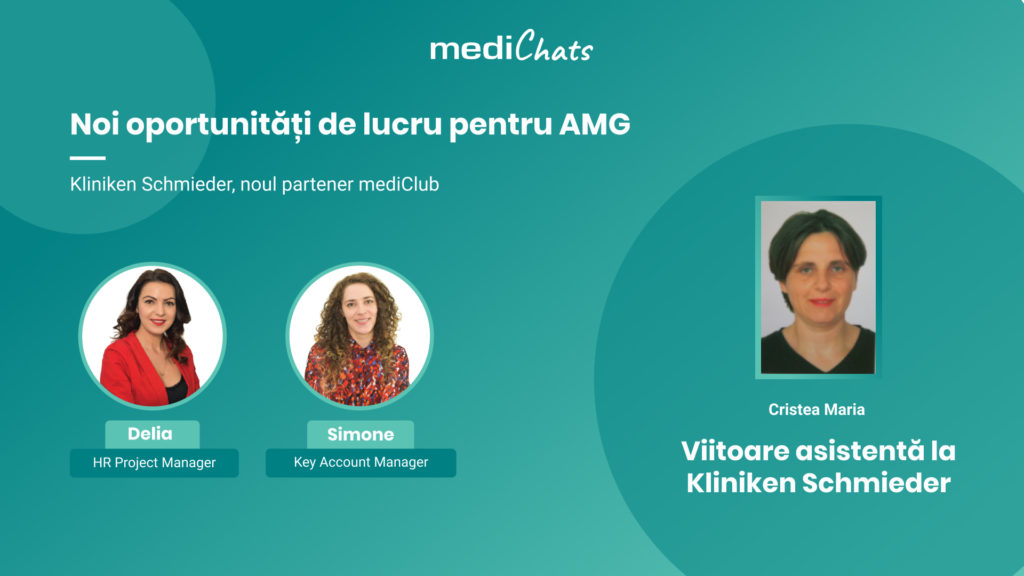 Cover eveniment online mediChats #2 - Kliniken Schmieder