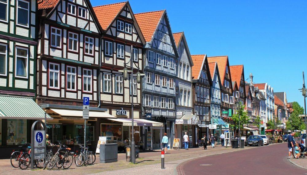 Clădirea reședinței pentru seniroi MeilerHaus din Germania